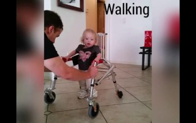 Choosing Life For Amnesty Part 3 – 16 Month Old With Spina Bifida Takes First Steps In Walker